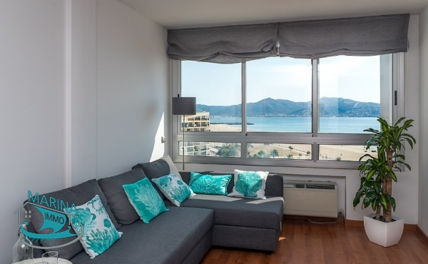 Apartment 2 rooms with sea view