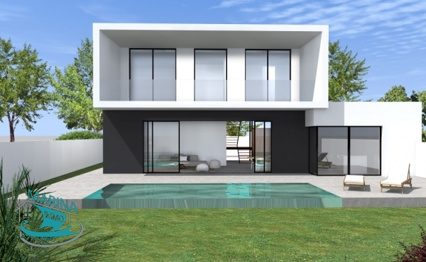 Luxury villa project with mooring of 19 m in Empuriabrava
